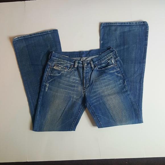 a2f1e357 Diesel Denim - Diesel Women's Flare Button Front Jeans size 28